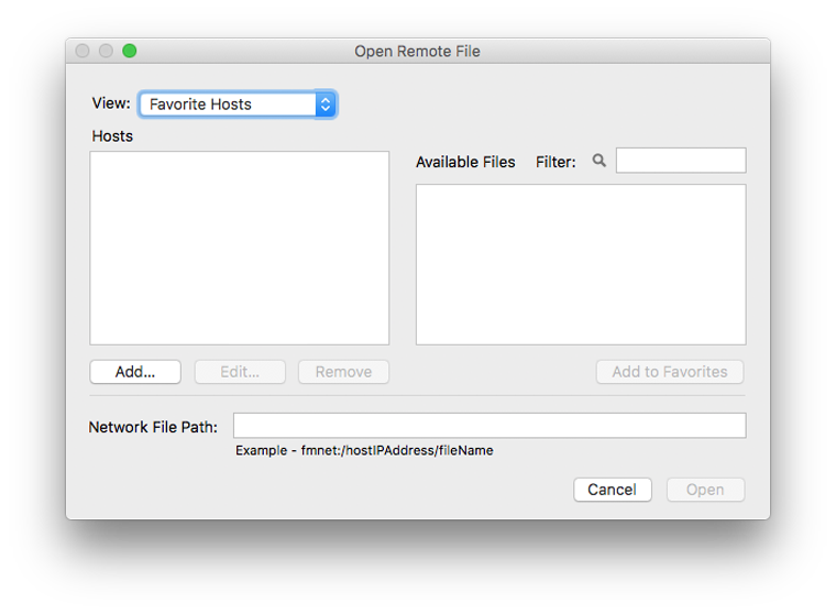 FileMaker Open Remote