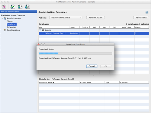 FileMaker Admin Download